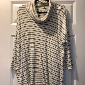 Lou and Grey Soft Cowl Neck Shirt